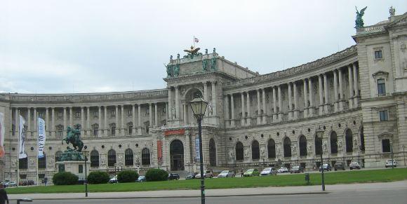 urystyka-atrakcje , Europa,  Austria,  Wiedeń, pałac Hofburg