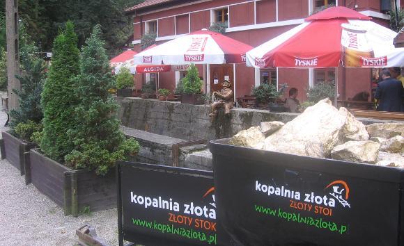 turystyka-atrakcje ,kopalnia z�ota Z�oty Stok, Dolny �l�sk ,  Muzeum G�rnictwa i Hutnictwa Z�ota , Polska