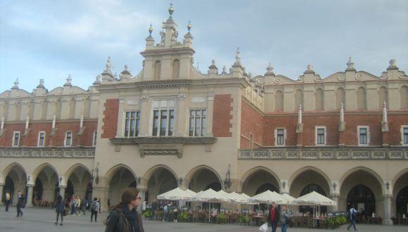 turystyka-atrakcje , Kraków sukiennice, rynek, Polska