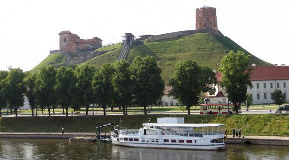 turystyka-atrakcje  , Litwa, Wilno,Góra Giedymina
