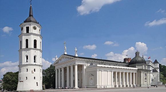 turystyka-atrakcje  , Litwa, Wilno, Katedra Wileńska