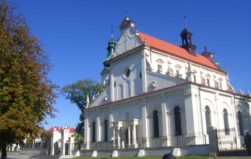 turystyka-atrakcje , Zamość, Kościól kolegiacki w Zamościu, Zamość co zwiedzić