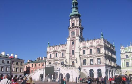 turystyka-atrakcje , Zamośż, ratusz w Zamościu, Zamość co zwiedzić