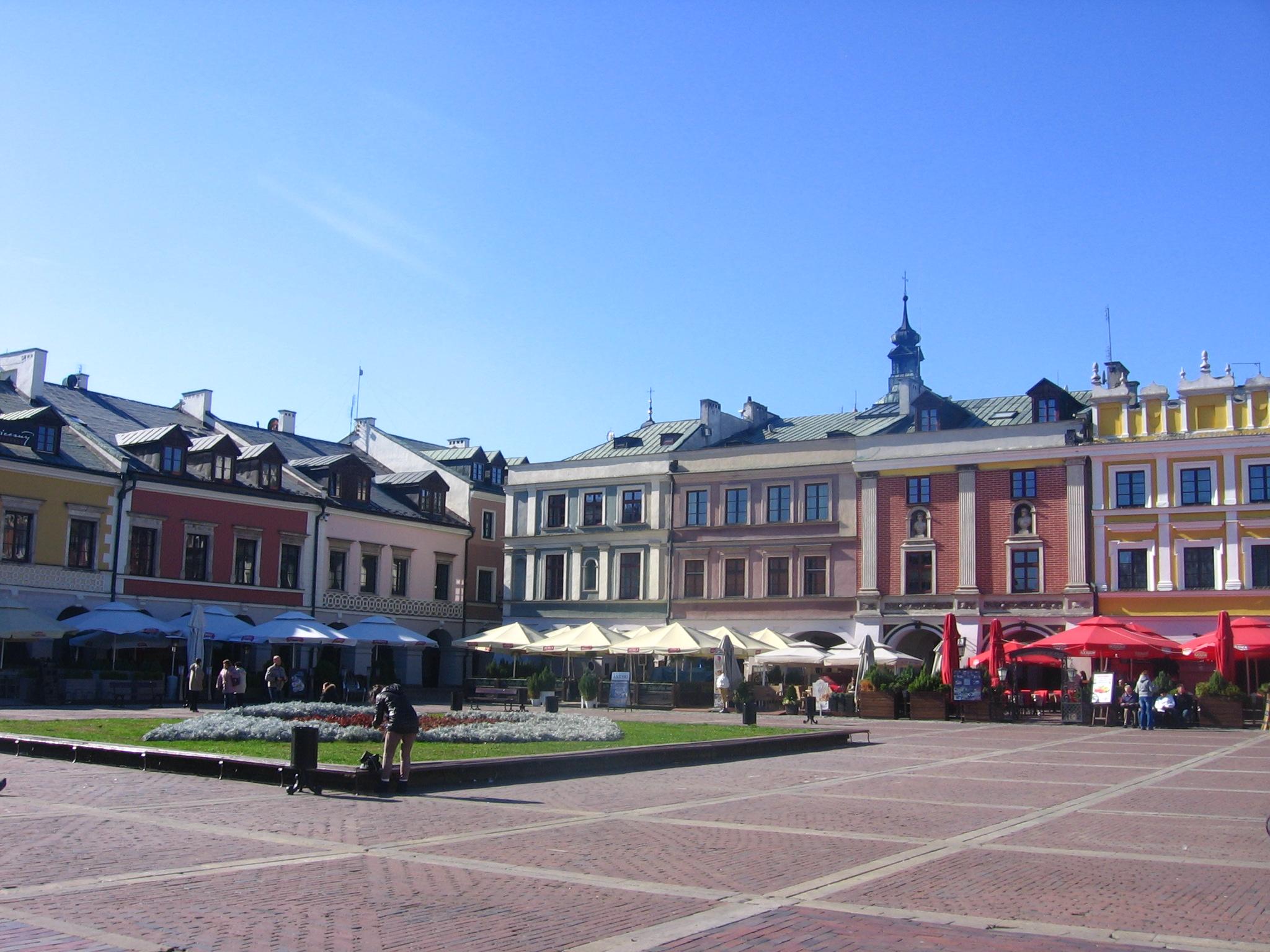 turystyka-atrakcje , Zamośc, Rynek Wielki, Zamość co zwiedzić
