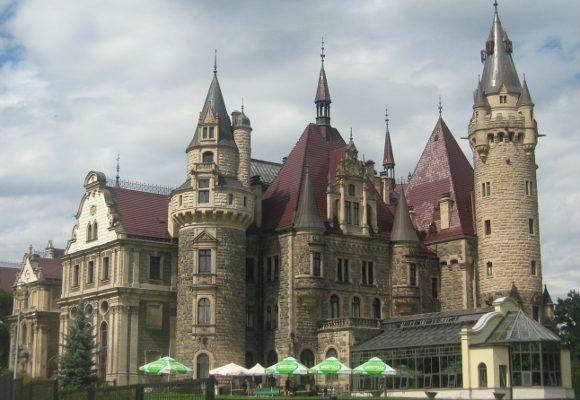 turystyka-atrakcje ,Moszna, Zamek w Mosznej , opolskie , Polska