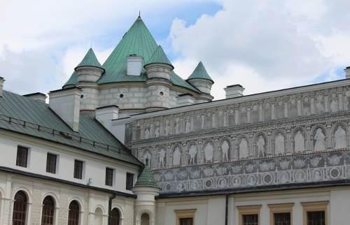 turystyka-atrakcje , Krasiczyn , zamek w Krasiczynie, Krasiczyn co zwiedzić