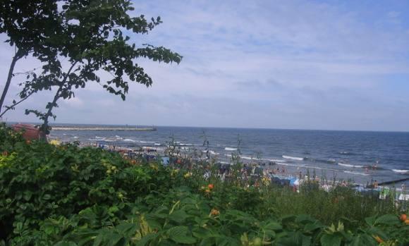 turystyka-atrakcje , polskie morze, pomorskie, pla�a, Ustka