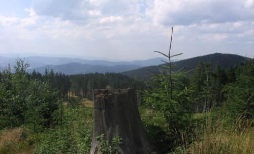 turystyka-atrakcje , beskid śląski, Beskidzka panorama