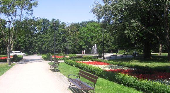 turystyka-atrakcje , polskie morze, zachodniopomorskie, Świnoujście atrakcje, Park Zdrojowy